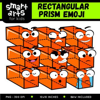 Math Rectangular Prism Emoji Clip Art