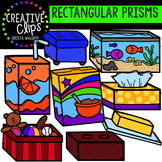 Rectangular Prisms Clipart {Creative Clips Clipart}