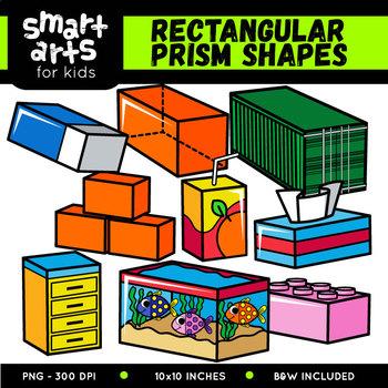 Rectangular Prism Shapes Cliparts