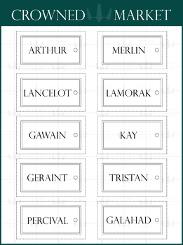 Rectangular Style Name Tag - 22 Colors