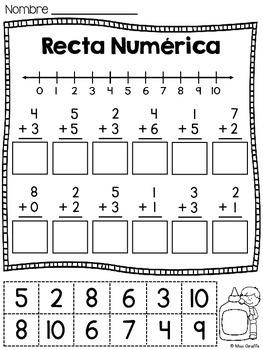 rectas num ricas by spanish giraffe teachers pay teachers. Black Bedroom Furniture Sets. Home Design Ideas