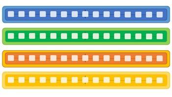 Rectas numéricas de colores