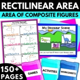 Rectilinear Area - Rectilinear Area Worksheets Activities Games