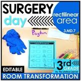 Rectilinear Area Math Game - Surgery Real World Math Activity