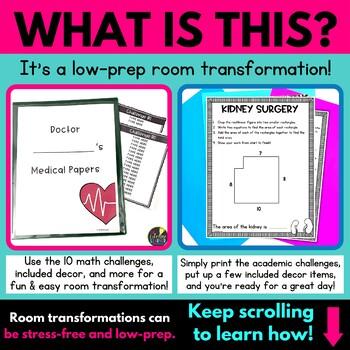 Rectilinear Area Math Game - Surgery - Classroom Transformation
