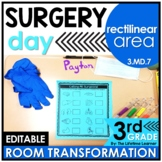 Rectilinear Area Math Game - Surgery Real World Math Activity