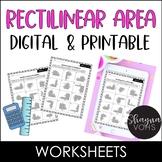 Rectilinear Area Worksheet