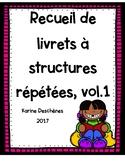 Recueil de textes à structures répétées-Volume 1