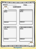 Recuento/Retelling Graphic Organizer