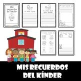 Recuerdos de kinder (Kindergarten memory book-Spanish)