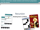 Recursion and Recursive Techniques in Computing and Comput