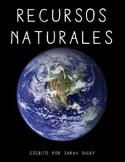 """""""Recursos Naturales"""" –Original Spanish Book (1st-Grade Level)"""