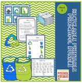 Preschool Bundle Recyclable Printable