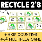 Skip Counting Game (Multiples Game): Recycle 2's