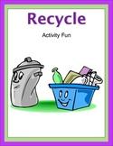 Recycle Activity Fun