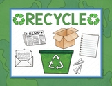 Recycle Bin - Classroom Label - Poster - Sign