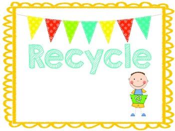 Recycle Bin Label
