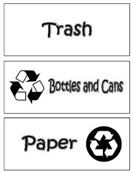 Recycle Bin Labels