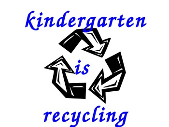 Recycle Bin Posters for Classroom Use