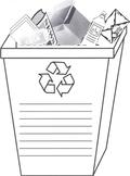 Recycle Bin Writing Activity