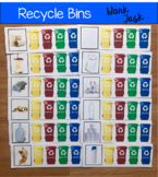 Recycle Bins Work Task (W/Real Photos)