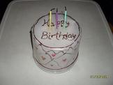 Recycle: Birthday Cake