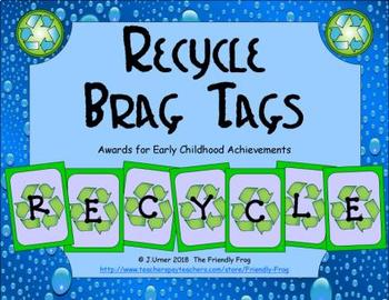 Recycle Brag Tags