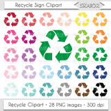 Recycle Clipart Recycling Clip Art Environment Printable Planner Stickers Nature
