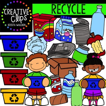 Recycle {Creative Clips Digital Clipart}