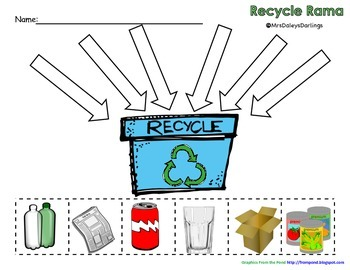 Recycle - Earth Day Activity