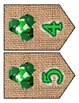 Recycle Earth Day Chevron / Banner Set - Any Message - all
