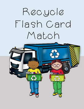Recycle Flashcard Match