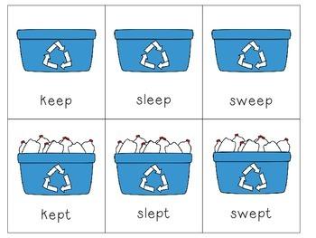 Recycle It: Irregular Past Tense Verbs