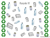 Recycle It! Tally Activity