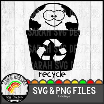Recycle Label SVG Design