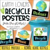 Recycle Posters // caring for Earth's Resources