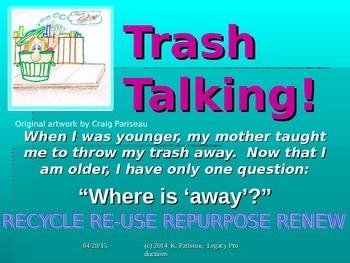 Recycle - Re-use - Repurpose - Renew
