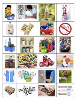 Recycle, Reduce and Reuse -T Chart