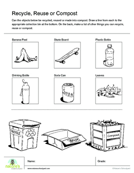 Recycle, Reuse, or Compost