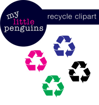 Recycle Sign Clipart-My Little Penguins