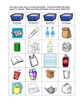 Freebie: Recycle Sort