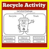 Reduce Reuse Recycle Worksheet | Sort