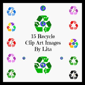 Recycle Symbol Clip Art