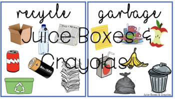 Recycle and Garbage Sort