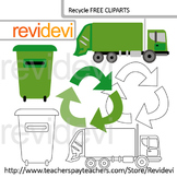 Recycle free clip art