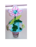 Recycled Blooming Earth Day Bottle