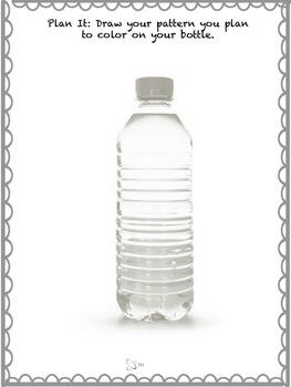 Recycled Bottle Sculpture Project