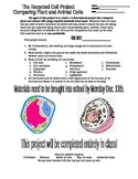 Recycled Cell Project (with Rubric)