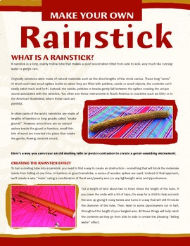 Pin on Spring DIY Rainstick For Kids | 350x270