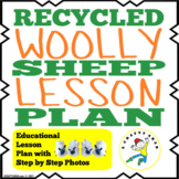 Recycled Woolly Sheep Paper Roll {Lesson Plan}